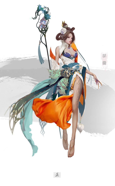 ArtStation - Character concept, yakun wang