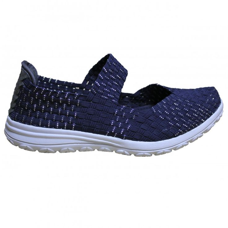 Elastic Shoes Slides Sandels Water Elastieke Shoenen Blauw Blue