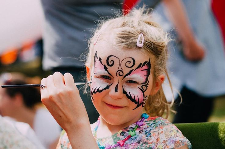 There will be face painting for your kids! (and you, if you're up for it :P)