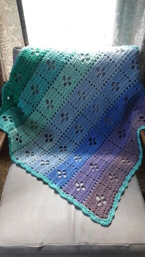 Call the Midwife blanket. Pattern on Ravelry