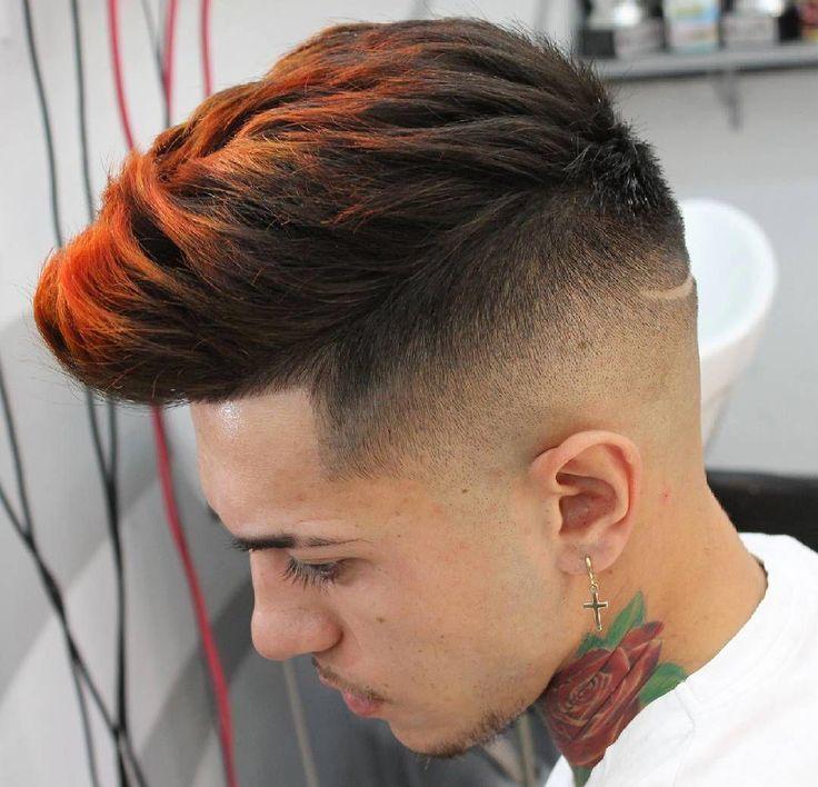 Coole Jungs Haarfarbe Mannerhaarideas Frisuren Haarfarben Haare Frisuren