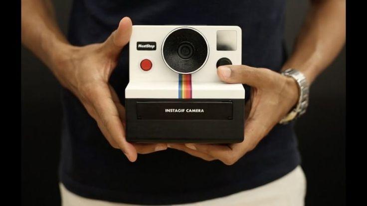 Instagif: Una cámara DIY que imprime GIFs de forma instantánea - https://www.vexsoluciones.com/noticias/instagif-una-camara-diy-que-imprime-gifs-de-forma-instantanea/