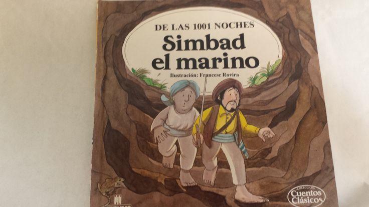 Número 17 de la Colección Cuentos Clásicos, multilibro, Simbad el marino, de las 1001 noches.