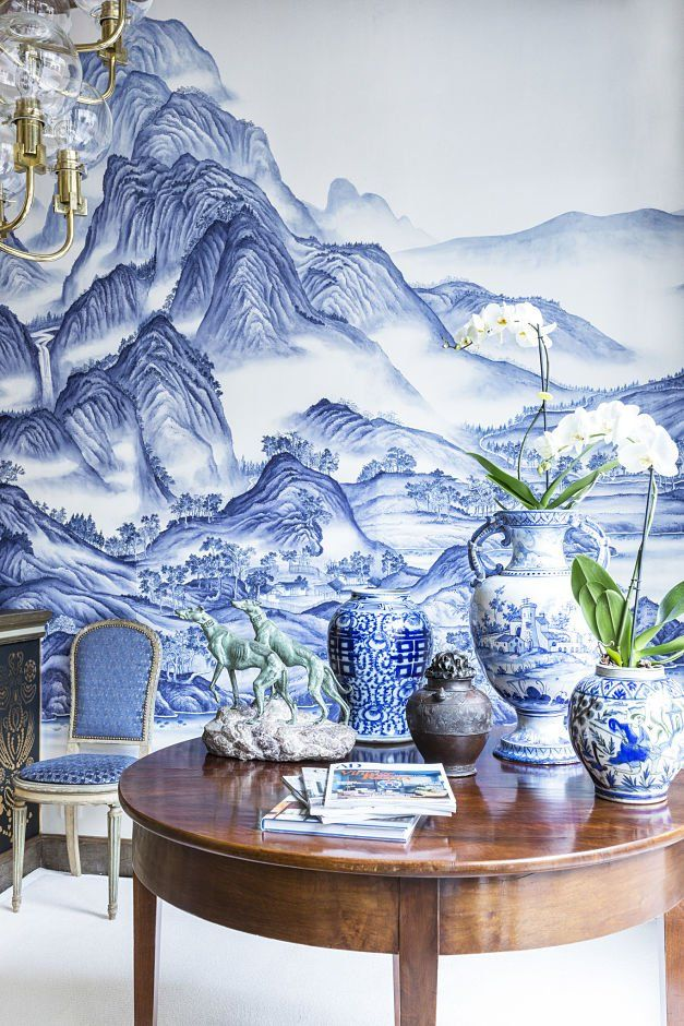 De Gournay Produce A Range Of Superbly Created Wallpapers Including Our  Chinoiserie End Eclectic Collections With Vibrant And Contrasting Colours.