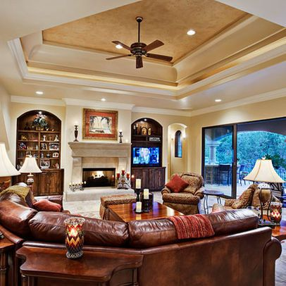 Tray ceiling living room google search tray ceilings for C o the living room