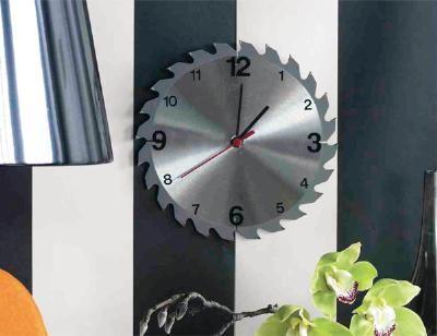 How to make A Saw Blade Clock