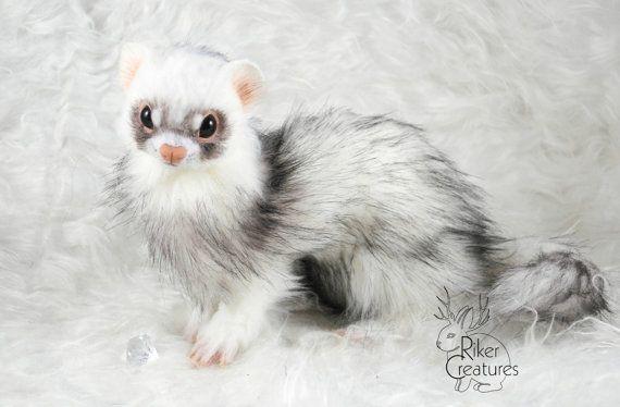 Beispiel-Arbeit  Lifesize-White-Frettchen  von RikerCreatures