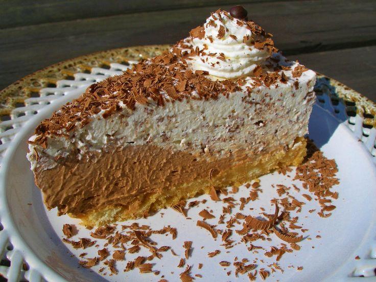 V kuchyni vždy otevřeno ...: Nepečený straciatella dort