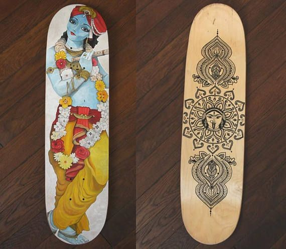 Planche skateboard personnalisée Inde