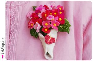 Free Felt Patterns and Tutorials: holidays - mother's day