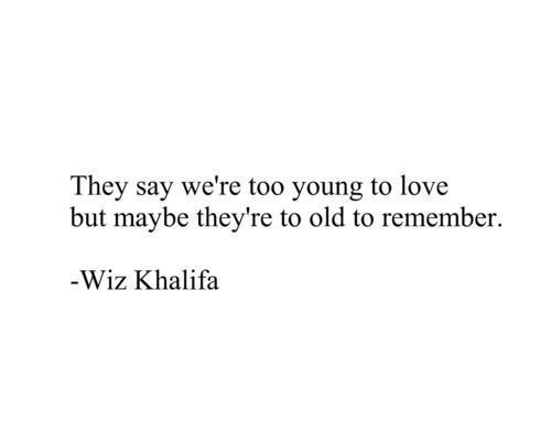 Quotes About Young Love: Best 25+ Wiz Khalifa Quotes Ideas On Pinterest