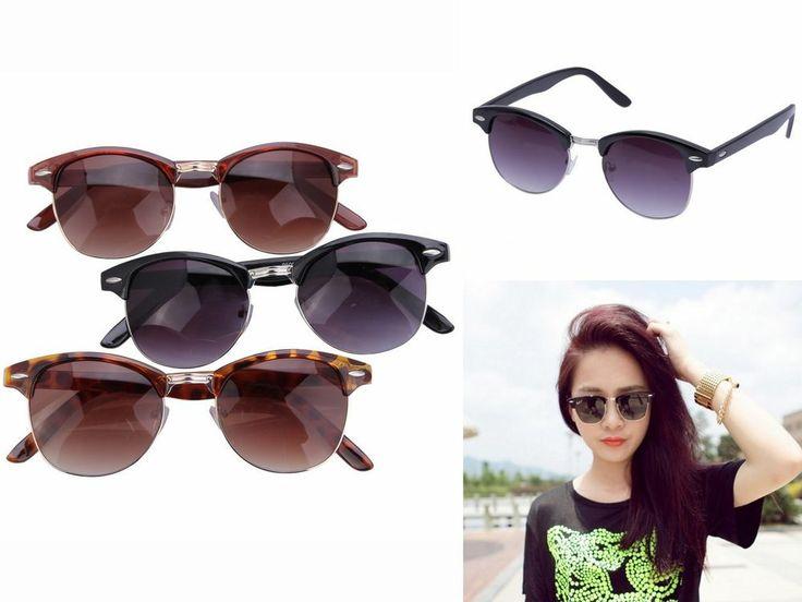 Hot Unisex Men Women Sunglasses Glasses Outdoor Driving Brown Purple Eye Protect