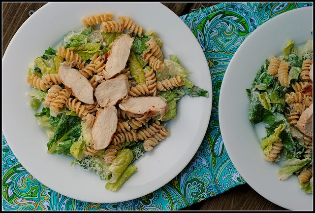 chicken Caesar Salad with a twistHappy Birthday