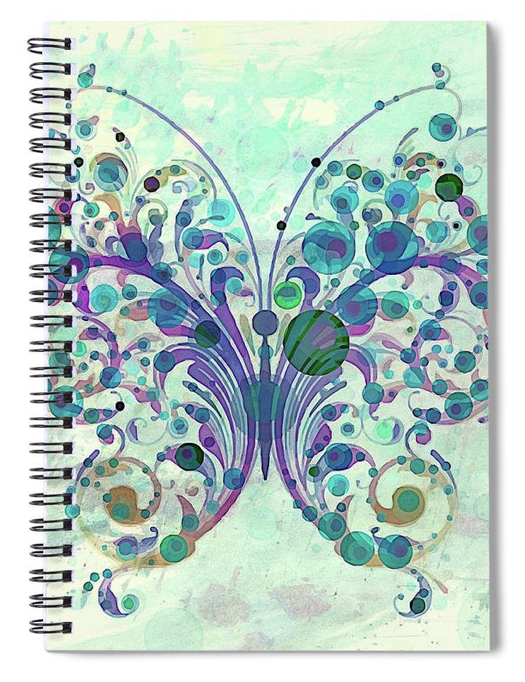 Last Dance Of A Butterfly Spiral Notebook for Sale by Georgiana Romanovna https://fineartamerica.com/products/last-dance-of-a-butterfly-georgiana-romanovna-spiral-notebook.html