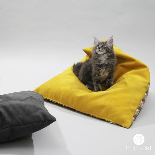 Berlingot S Pouf Chat Poire Design Lit Pour Chat Chat Pouf