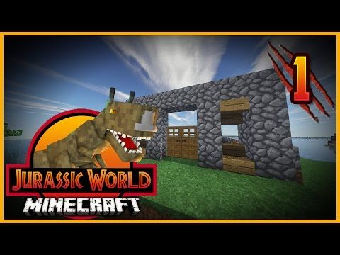 Minecraft Jurassic World - Episode 6 - BABY TRICERATOPS! - YouTube
