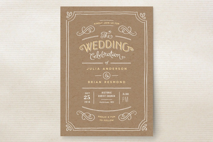 Hand Delivered Wedding Invitations by Jennifer Wic... | Minted