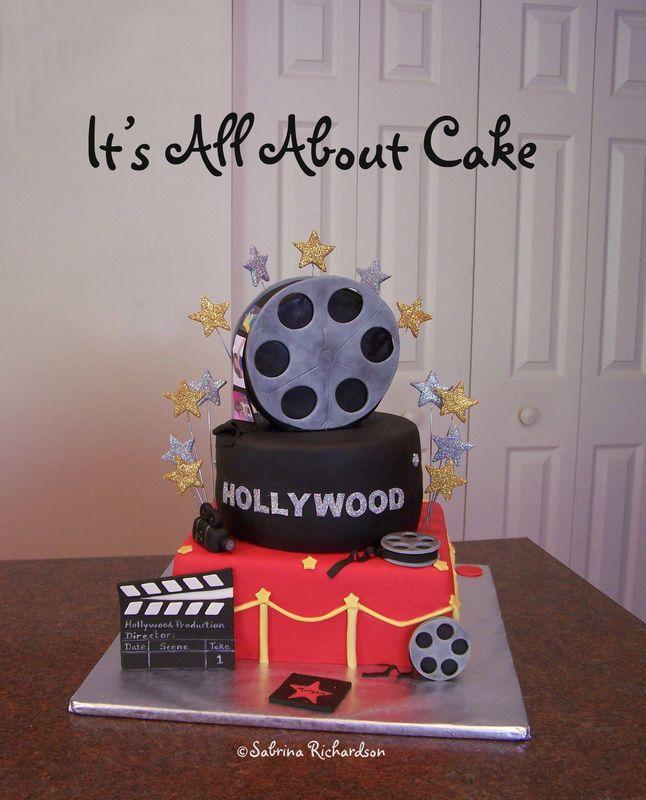 Hollywood Cake Party Ideas Pinterest