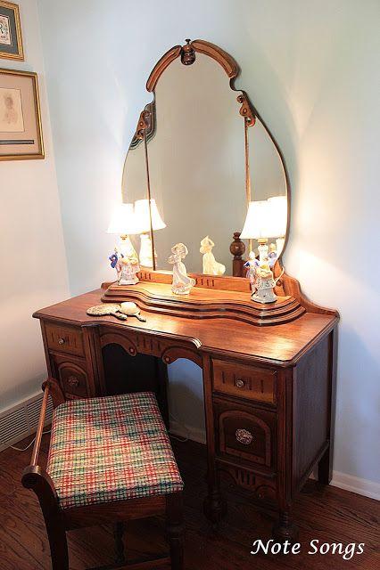 Dresser is part of a bedroom set.