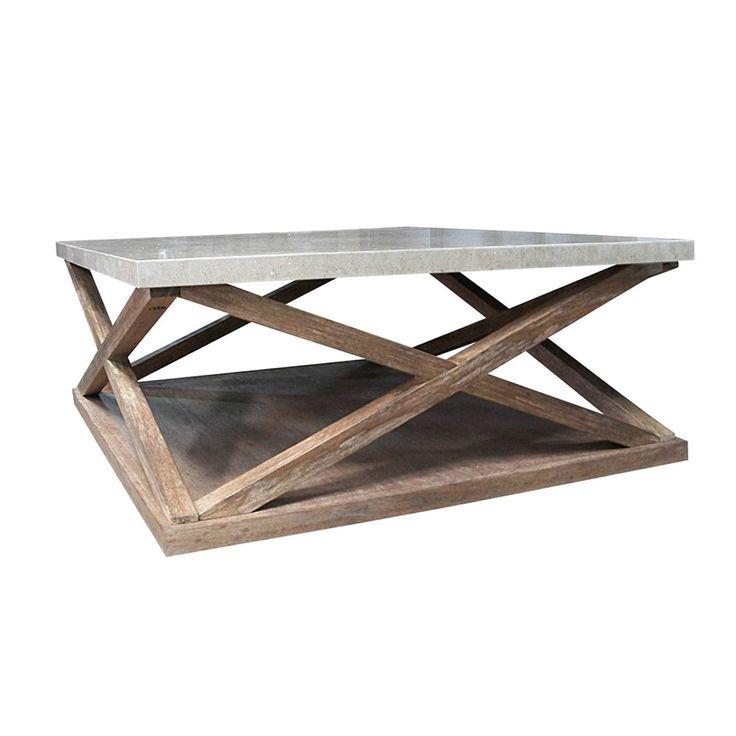 Montauk Square Coffee Table - Max Sparrow