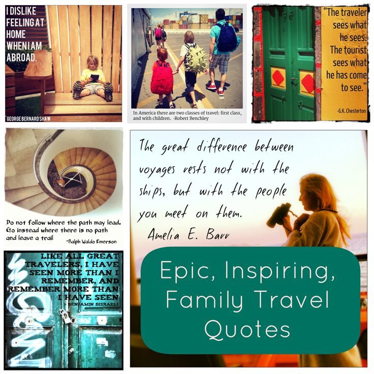 Travel has always been important to me. Second only to family.