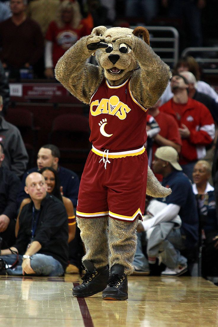 Cleveland Cavaliers mascot, Moondog. | NBA Mascots ...
