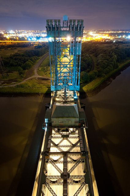 Tees Newport Bridge, Middlesbrough, UK