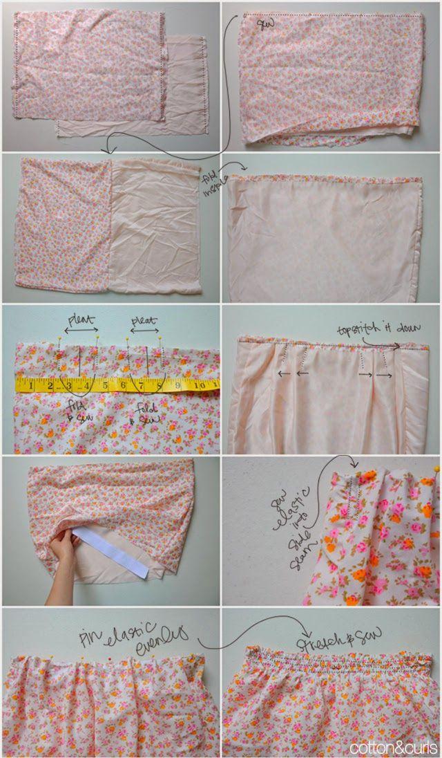 DIY: c�mo hacer unos shorts