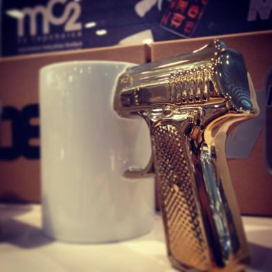 MC2 Golden Top Gun Mug www.topchoice.com.hk