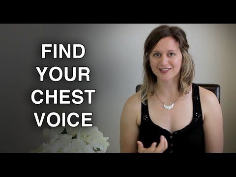 Find Your Chest Voice - Sing in a Natural Chest Singing Voice - Felicia ...