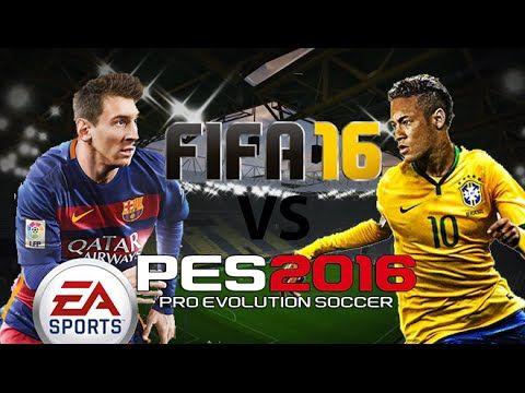 FIFA 16 vs PES 2016 - Gameplay Trailer - YouTube