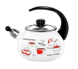 Czajnik emaliowany biały Cooking Time - Emalia Olkusz 2L