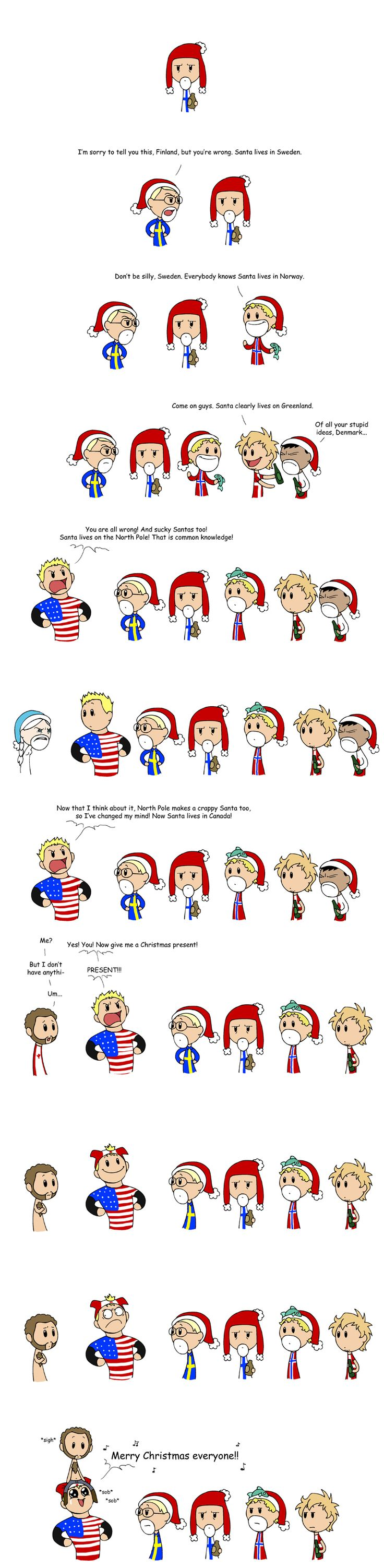 A Scandinavia and the World Merry Christmas
