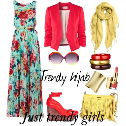 Trendy hijab style collection   Just Trendy Girls