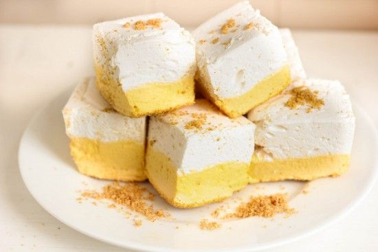 No Bake Lemon Meringue Marshmallows | The WHOot