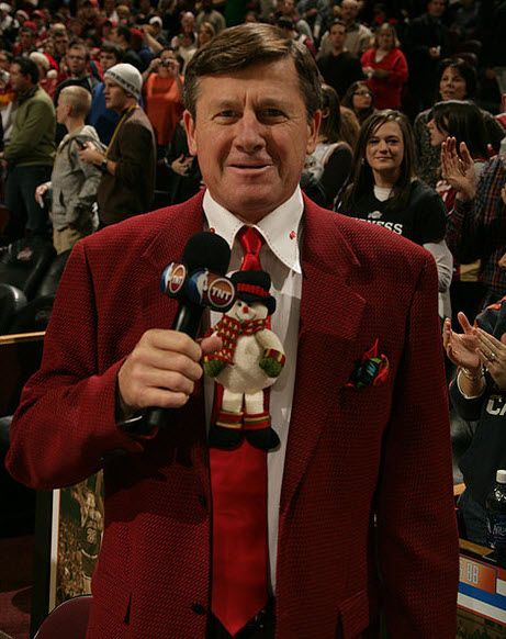 Craig Sager, Xmas suite! *Get paid for your sports passion at www.sportsblog.com