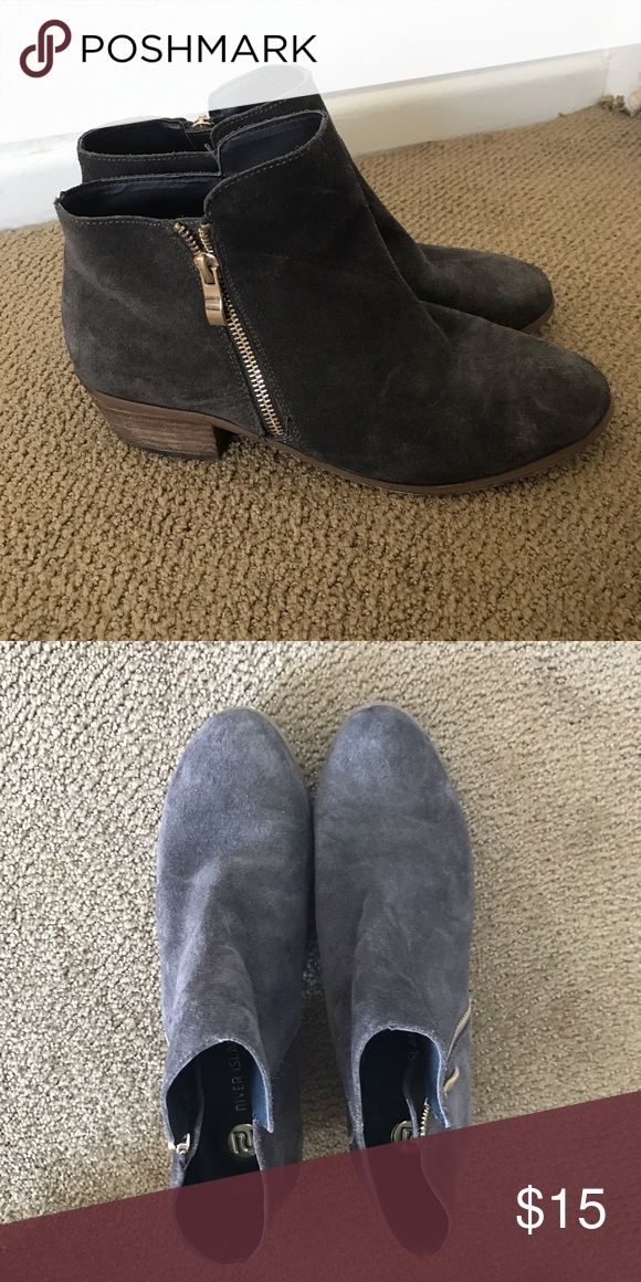 River island brown booties Practically new River Island Shoes Ankle Boots & Booties