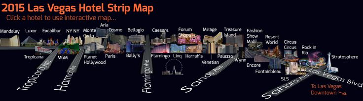 Las Vegas Interactive Map 2015 Find Ever Nightclub Restaurant: Las Vegas Interactive Map At Infoasik.co