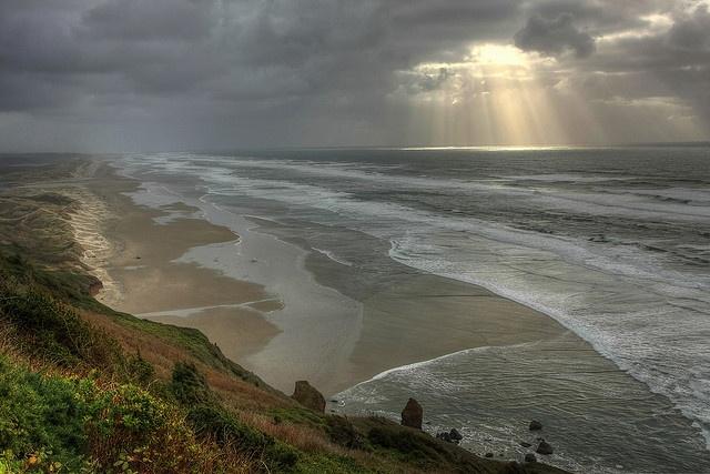 Winter Oregon Coast