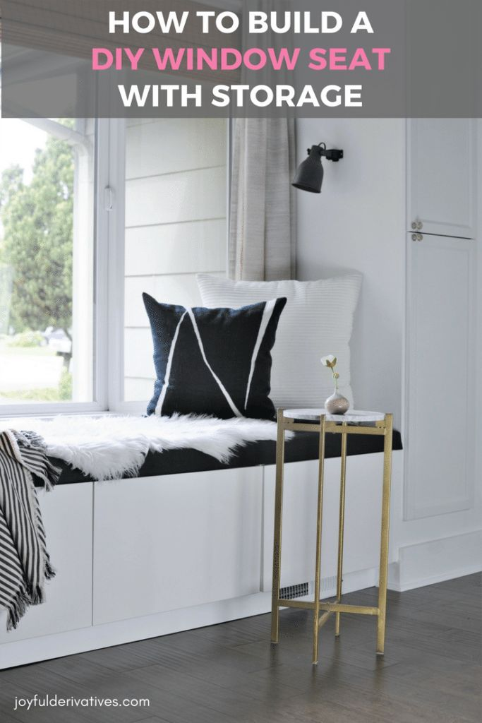 Pleasant Diy Window Seat With Storage Out Of Ikea Cabinets Window Ocoug Best Dining Table And Chair Ideas Images Ocougorg