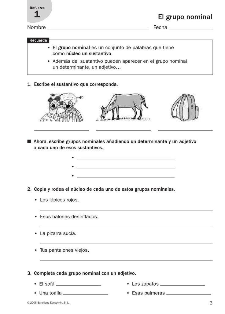 167 best 4 primaria lengua castellana images on Pinterest   Learn ...
