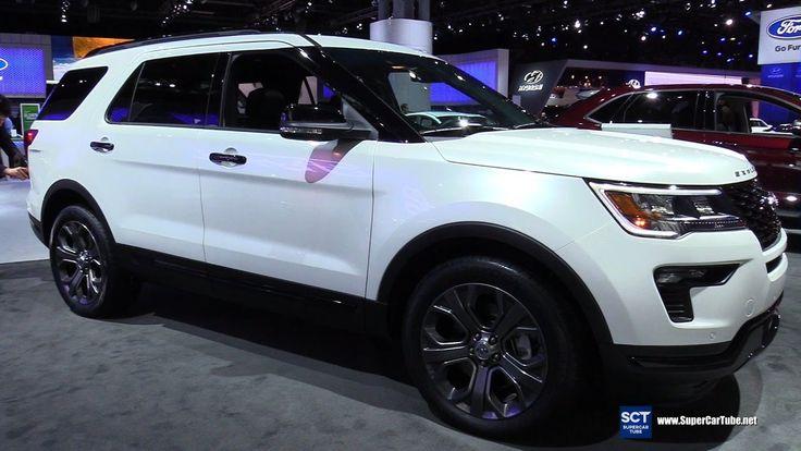 2018 Ford Explorer Sport - Exterior and Interior Walkaround - Debut at 2...