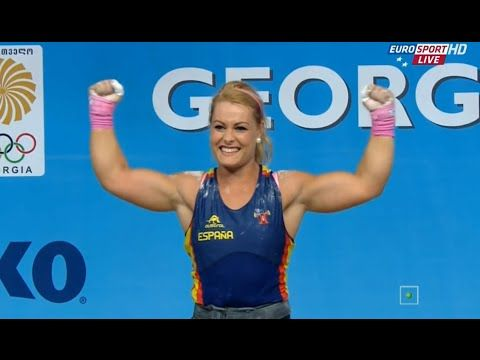 2015 European Weightlifting Championships Women's 75 kg \ Тяжелая атлети...