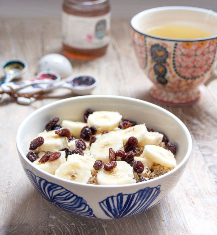 Overnight Honey Oats | Deliciously Ella
