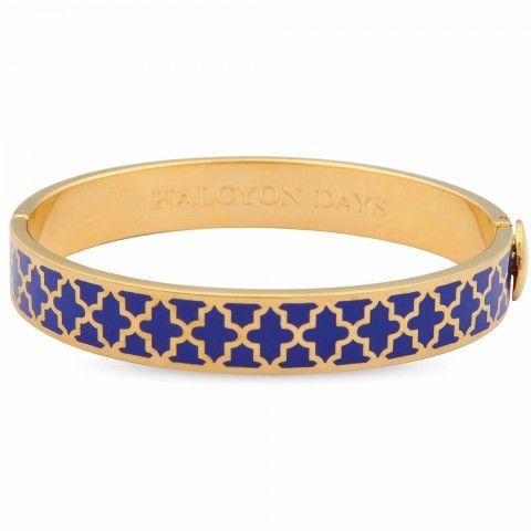 Agama Bangle, Cobalt & Gold