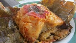 Nacatamales - these aren't your average tamales!  Nicaraguan style!