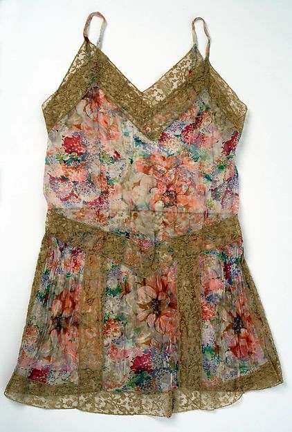 Underwear (image 1)   British   1929   no medium available   Metropolitan Museum of Art   Accession #: C.I.67.37.7a,b