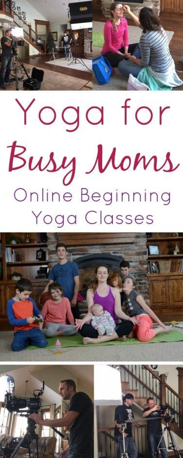 This online yoga class would be perfect for me! ~ Yoga for Busy Moms www.orsoshesays.com