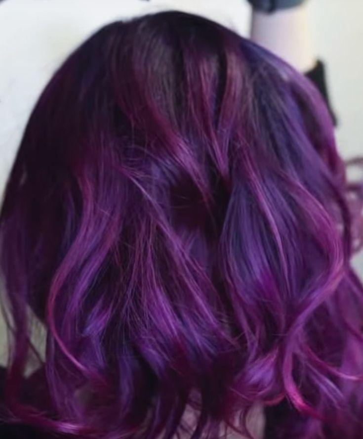 Red Shampoo On Purple Hair Shampoo For Purple Hair Dark Purple Hair Red Shampoo