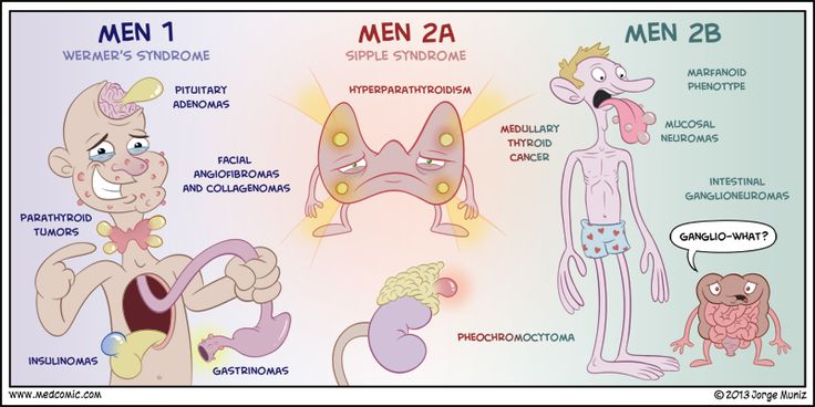 Multiple Endocrine Neoplasia is a group of disorders that affect the ...